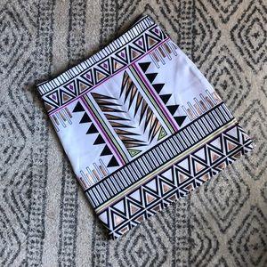 Tribal Inspired Body-con Skirt
